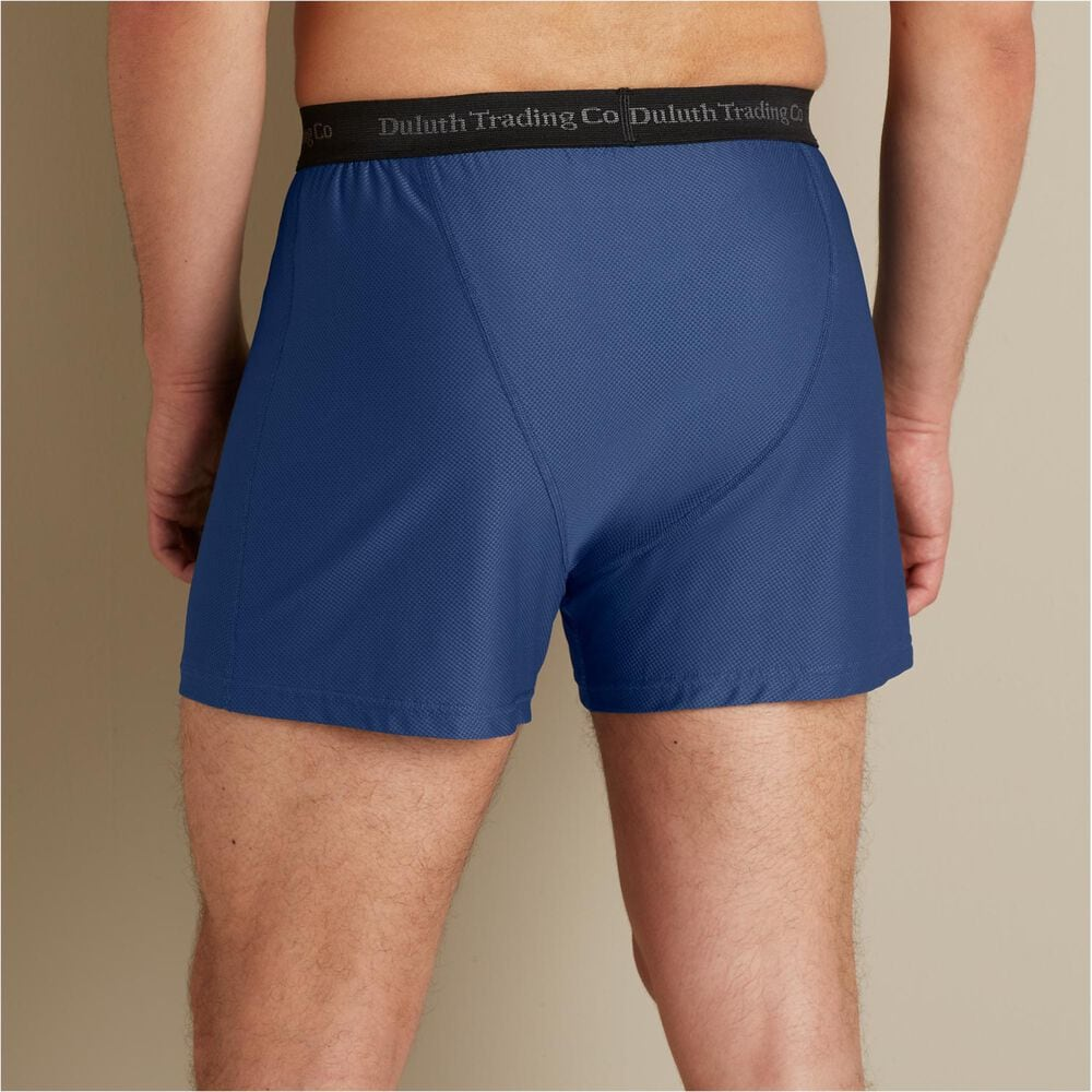 Mens Buck Naked Performance Relaxed Fit Boxers  Duluth -2446