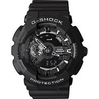 Casio G-Shock Analog and Digital Watch BLACK