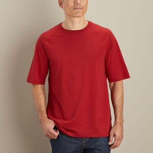 Men's CoolMax Relaxed Fit Short Sleeve Crew