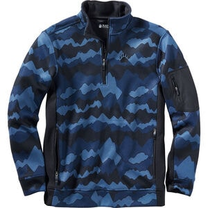 Men's AKHG Graveltec Print 1/4 Zip