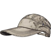 Men's No Fly Zone Extra Long Brim Cap STONE M/L