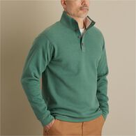 Men's Burly Thermal Sherpa-Lined Mock Shirt RBRHTH