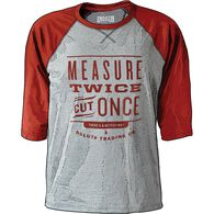 Men's Longtail T Logo Baseball T-Shirt GRAYHEA SM