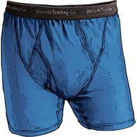 Men's Buck Naked Performance Boxer Briefs YSMTBLU
