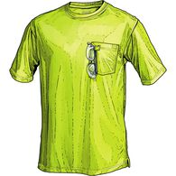 Men's Hi-Vis Short Sleeve T-Shirt with Pocket SAFY