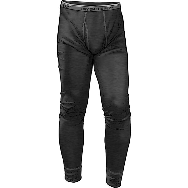 Men's Dry on the Fly Base Layer Pants BLACK 3XL 03
