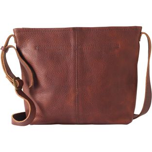 351123d35ae Women s Lifetime Leather Medium Sling Bag   Duluth Trading Company