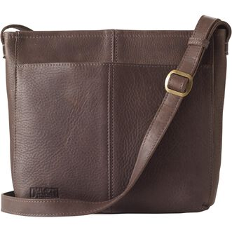 Women's Lifetime Leather Medium Sling Bag SHALGRY