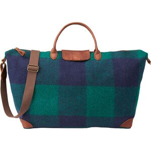 Plaid Duffle Bag