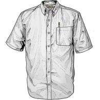Men's Wrinklefighter Oxford Short Sleeve Shirt WHI