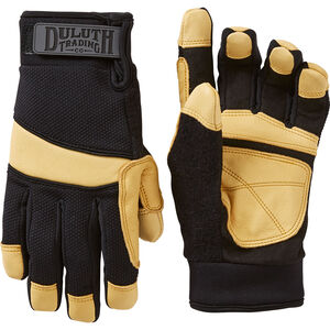 Women's Insulated Leather Work Gloves