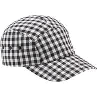 Women's Gingham Ball Cap BLKGNGM L/XL