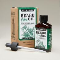 Spit & Polish Cedar and Fir Beard Oil