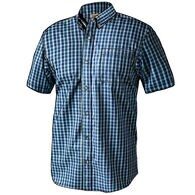 Men's Magnet Front Wrinklefighter Short Sleeve Pattern Shirt