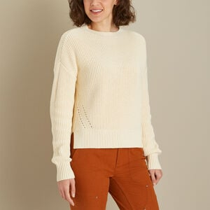 Women's Heritage Shaker Stitch Sweater