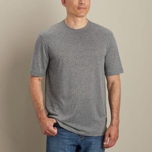 Men's Wickety Split Standard Fit Short Sleeve Crew Tee