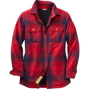 Women's Free Swingin' Lined Flannel Shirt Jac CREO