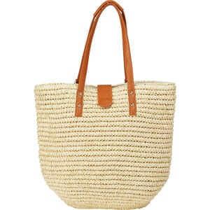 Convertible Straw Bag