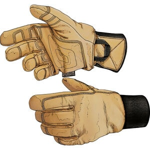 Men's Winter Mender Insulated Leather Gloves
