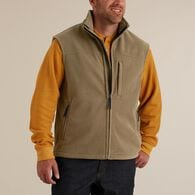 Men's Shoreman's Fleece Windproof Vest BRTORG LRG
