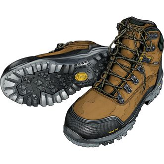 bf0f58be8cf Men's Capstone Safety Toe Work Boots