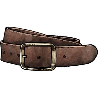 Men's Vintage Leather Work Belt