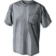Men's Longtail T Short Sleeve V-Neck T-Shirt GRAYH