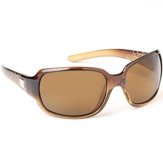 Women's Cookie Polarized Sunglasses BROWN