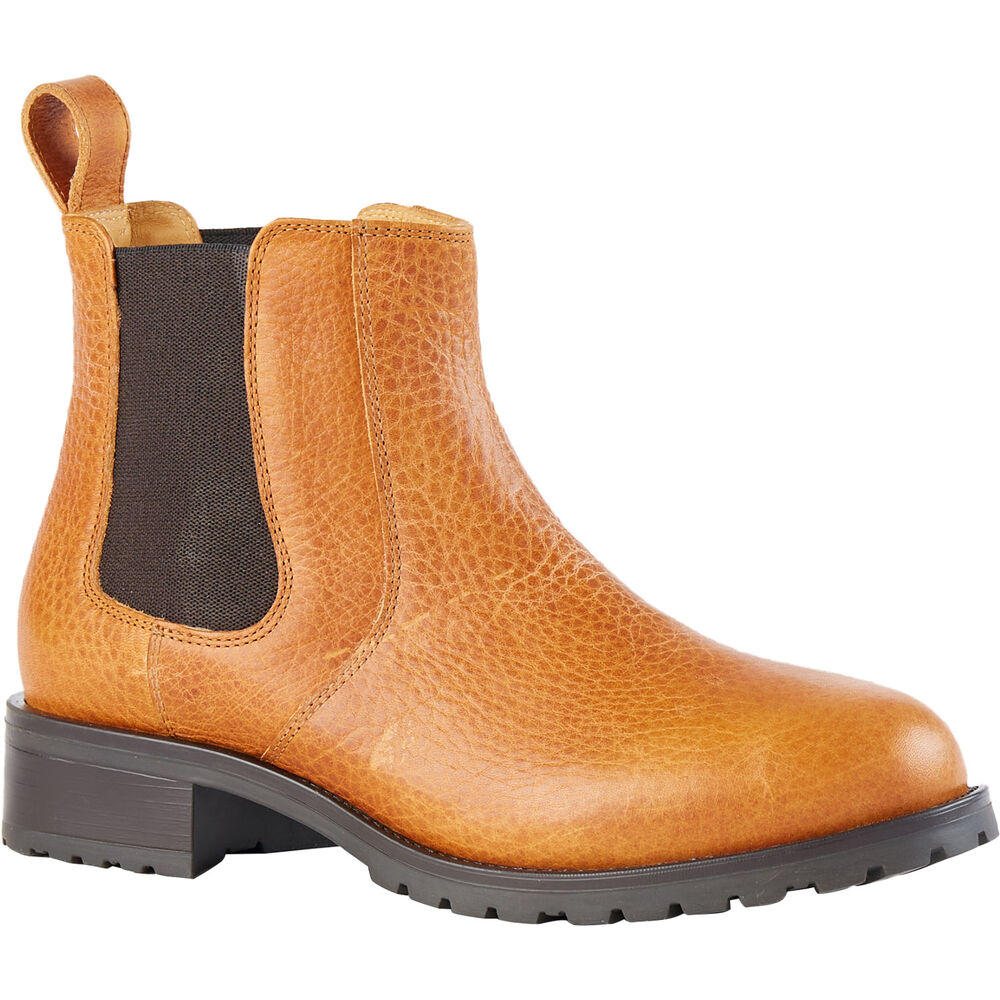 Women S Lifetime Leather Chelsea Boot Duluth Trading Company