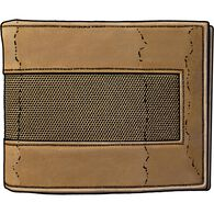 Men's Fire Hose Bi-Fold Wallet BROWN