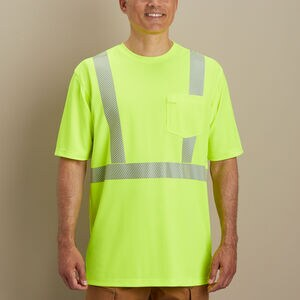 Men's Longtail T Hi-Vis Class 2 Short Sleeve T-Shirt