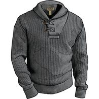 Men's High-Neck Infantry Sweater DARK GRAY HEATHER