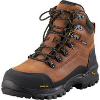 Men's Capstone Safety Toe Work Boots BROWN 8  MED