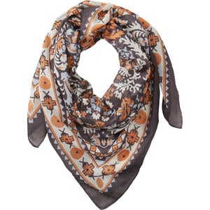 Women's Floral Square Scarf