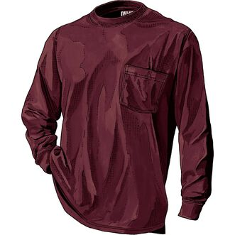 Men's Longtail T Long Sleeve T-Shirt with Pocket
