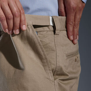 Men's Middle Management Pleat Chinos