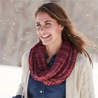 Women's Midweight Knit Infinity Scarf