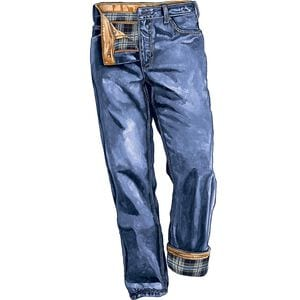 Men's Ballroom Flannel-Lined Relaxed Fit Jeans