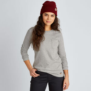 Women's 40 Grit Long Sleeve Pocketed T-Shirt