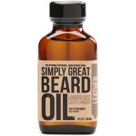 Leather Simply Great Beard Oil