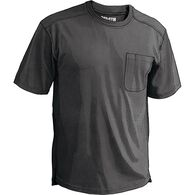 Men's Longtail T CoolMax T-Shirt with Pocket BLACK