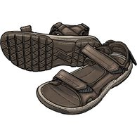 Men's Teva Langdon Sandals BROWN 13 MED