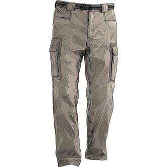 Men's DuluthFlex Dry on the Fly Cargo Pants STONE