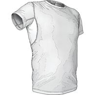 Men's Buck Naked Pit-Proof Crew Undershirt WHITE M