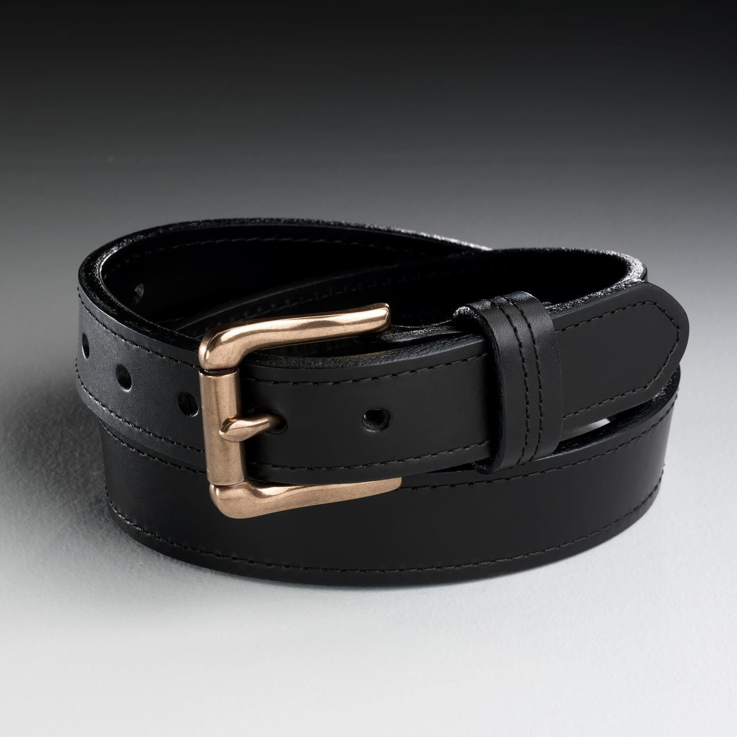 Bare bottom strapping with thick leather belt