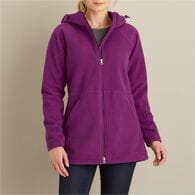 Women's Shoreline Fleece Windproof Parka BLACK XSM