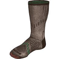 Men's 7-Year Midweight Performance Crew Socks BRWN