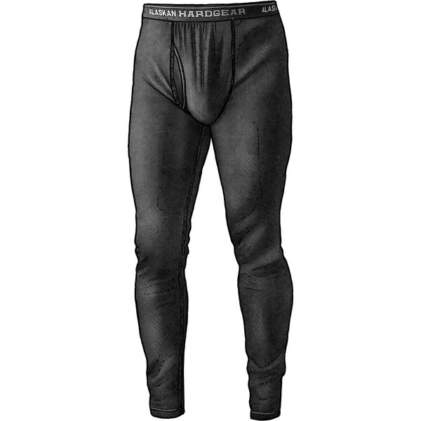Men's Alaskan Hardgear Black Ram Merino Base Layer Pants
