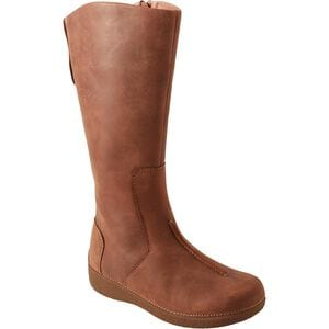 Women's Andina Leather Boots Wide Calf
