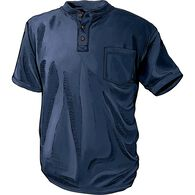 Men's Longtail T Short Sleeve Henley with Pocket N